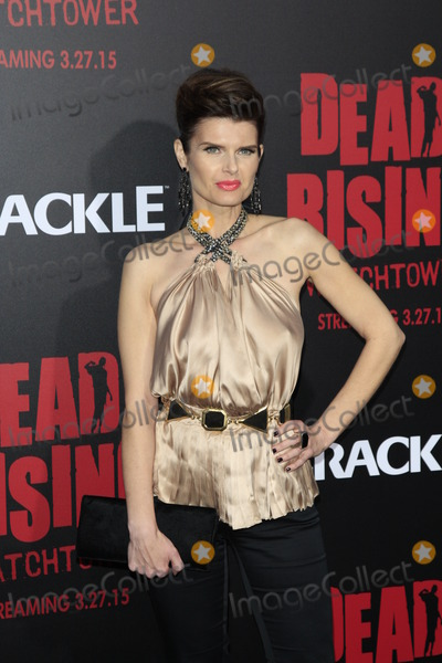"Carrie Genzel, Kim Novak, The Dead Photo - LOS ANGELES - MAR 11:  Carrie Genzel at the ""Dead Rising: Watchtower"" World Premiere at the Kim Novak Theater, Sony Studios on March 11, 2015 in Culver City, CA"
