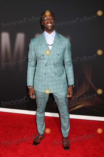 """Aldis Hodge, Aldis Hodges Photo - LOS ANGELES - FEB 24:  Aldis Hodge at the """"The Invisible Man"""" Premiere at the TCL Chinese Theater IMAX on February 24, 2020 in Los Angeles, CA"""