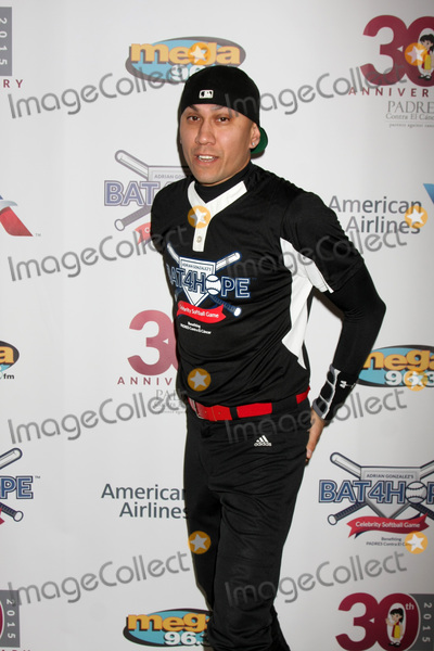 Adrian Gonzalez, Taboo Photo - LOS ANGELES - NOV 7:  Taboo at the Adrian Gonzalez's Bat 4 Hope Celebrity Softball Game PADRES Contra El Cancer at the Dodger Stadium on November 7, 2015 in Los Angeles, CA