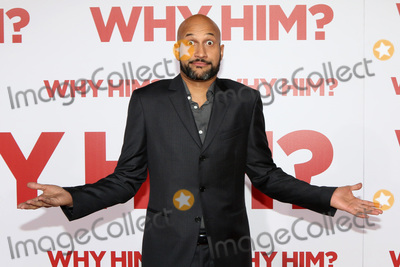 """Keegan Michael Key, Keegan-Michael Key, Keegan Michael-Key Photo - LOS ANGELES - DEC 17:  Keegan-Michael Key at the """"Why Him?"""" Premiere at Bruin Theater on December 17, 2016 in Westwood, CA"""