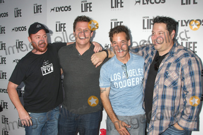 Adrian Pasdar, Bob Guiney, Greg Grunberg, Scott Grimes Photo - LOS ANGELES - JUN 8:  Scott Grimes, Bob Guiney, Adrian Pasdar, Greg Grunberg at the LA Launch Of LYCOS Life at the Banned From TV Jam Space on June 8, 2015 in North Hollywood, CA