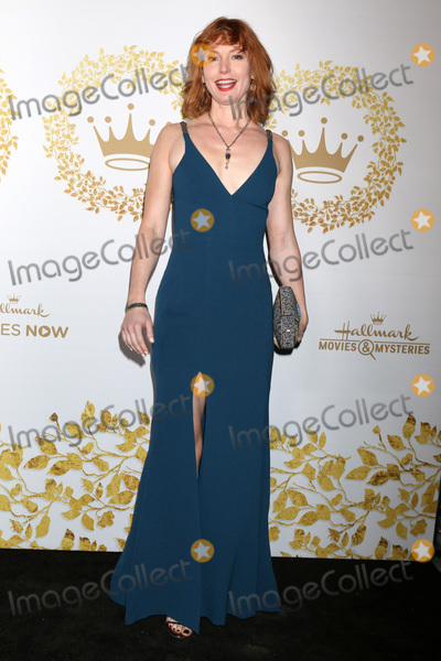 Photo - LOS ANGELES - FEB 9:  Alicia Witt at the Hallmark Winter 2019 TCA Event at the Tournament House on February 9, 2019 in Pasadena, CA