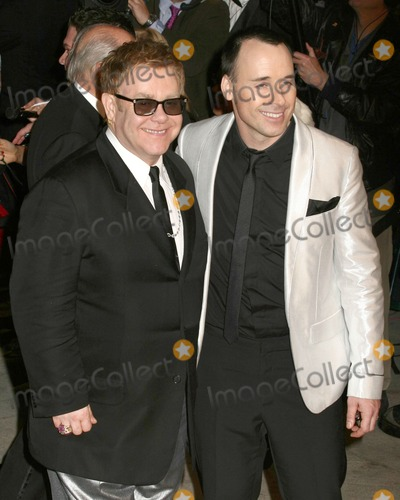 David Furnish, Elton John Photo - Elton John & David Furnish2007 Vanity Fair Oscar PartyMortons ResturantW Hollywood, CAFebruary 25, 2007