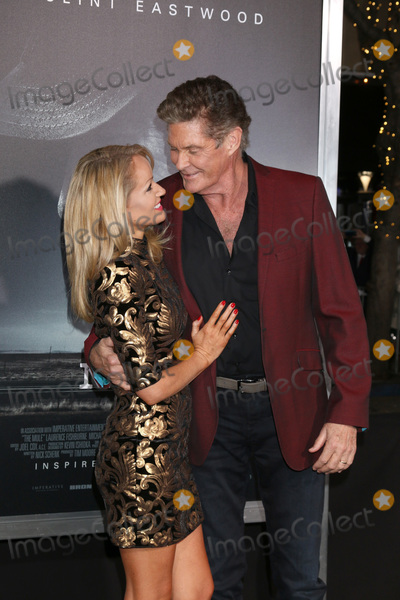 "David Hasselhoff, Hayley Roberts Photo - LOS ANGELES - DEC 10:  Hayley Roberts, David Hasselhoff at the ""The Mule"" World Premiere at the Village Theater on December 10, 2018 in Westwood, CA"