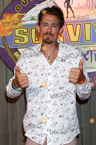 "Edge Photo - LOS ANGELES - MAY 15:  Joe Anglim at the ""Survivor: Edge of Extinction"" Finale at the CBS Radford on May 15, 2019 in Studio City, CA"