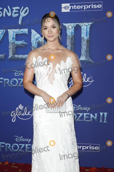 "Alisha Marie Photo - LOS ANGELES - NOV 7:  Alisha Marie at the ""Frozen 2""  LA Premiere at the Dolby Theater on November 7, 2019 in Los Angeles, CA"