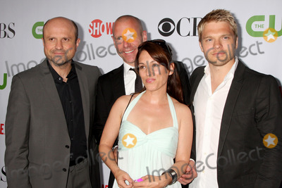 Amy Jo Johnson, Enrico Colantoni, Hugh Dillon, David Paetkau Photo - Flashpoint Cast (Enrico Colantoni, Hugh Dillon, Amy Jo Johnson, & David Paetkau) arriving at the CBS Television Distribution TCA Stars Party at the Huntington Library in San Marino, CA  on August 3, 2009