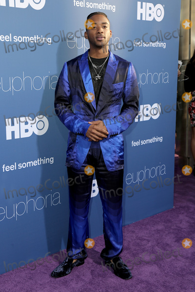 "Algee Smith Photo - LOS ANGELES _ JUN 4:  Algee Smith at the LA Premiere Of HBO's ""Euphoria"" at the Cinerama Dome on June 4, 2019 in Los Angeles, CA"