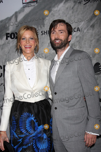 "Anna Gunn, David Tennant Photo - LOS ANGELES - SEP 30:  Anna Gunn, David Tennant at the ""Gracepoint"" Premiere Party at LACMA on September 30, 2014 in Los Angeles, CA"