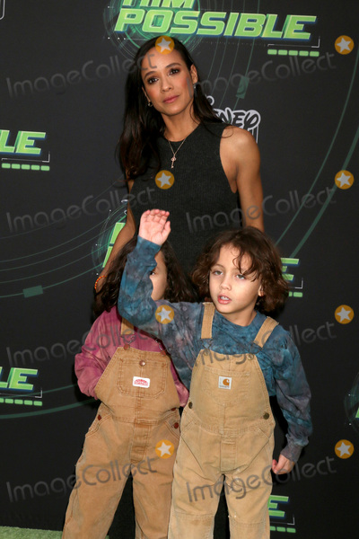 "Dania Ramirez Photo - LOS ANGELES - FEB 12:  Dania Ramirez, Sons at the ""Kim Possible"" Premiere Screening at the TV Academy on February 12, 2019 in Los Angeles, CA"
