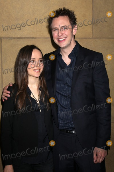 """Ellen Page, James Gunn Photo - LOS ANGELES - MAR 21:  Ellen Page, James Gunn arriving at the """"Super"""" Premiere at Egyptian Theater on March 21, 2011 in Los Angeles, CA"""