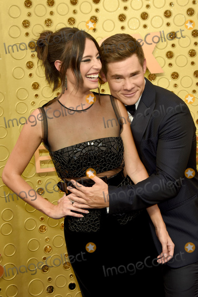 Chloe Bridges, Adam DeVine Photo - LOS ANGELES - SEP 22:  Chloe Bridges, Adam Devine at the Primetime Emmy Awards - Arrivals at the Microsoft Theater on September 22, 2019 in Los Angeles, CA