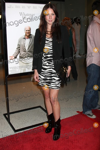 Photos And Pictures Lynn Collins Arriving At The Movie Premiere Of Whatever Works At The Silver Screen Theater Of The Pacific Design Center In West Los Angeles Ca On June 8 2009