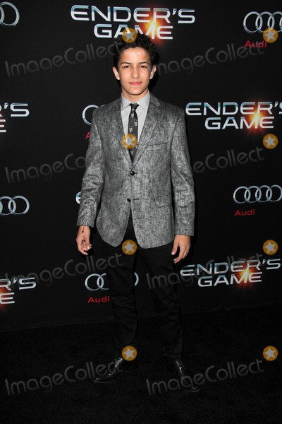 """Aramis, Aramis Knight Photo - LOS ANGELES - OCT 28:  Aramis Knight at the """"Ender's Game"""" Los Angeles Premiere at TCL Chinese Theater on October 28, 2013 in Los Angeles, CA"""