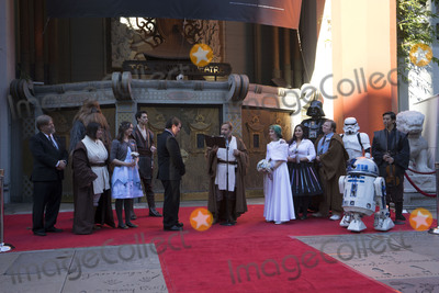 Andrew Porters, Caroline Ritter Photo - LOS ANGELES - DEC 17:  Andrew Porters, Caroline Ritter at the Australian Star Wars fans get married in a Star Wars-themed wedding at the TCL Chinese Theater on December 17, 2015 in Los Angeles, CA