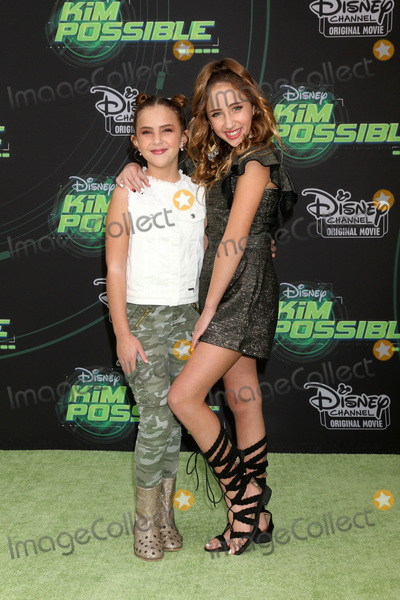 """Ava Kolker Photo - LOS ANGELES - FEB 12:  Lexi Kolker, Ava Kolker at the """"Kim Possible"""" Premiere Screening at the TV Academy on February 12, 2019 in Los Angeles, CA"""