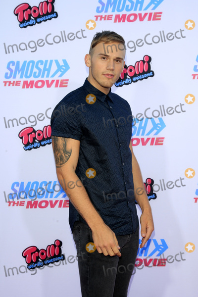 "Photo - LOS ANGELES - JUL 22:  Brandon Skeie at the ""SMOSH: THE MOVIE""  Premiere at the Village Theater on July 22, 2015 in Westwood, CA"