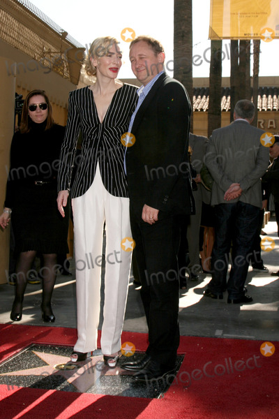 Andrew Upton, Cate Blanchett, CATE BLANCHETTE Photo - Cate  Blanchett & Husband at Cate Blanchett's  Star Ceremony  on the Hollywood Walk of Fame in Los Angeles,, CA December 5, 2008
