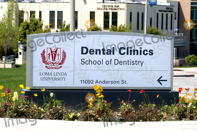 Photo - LOS ANGELES - APR 11:  Loma Linda Univeristy School of Dentistry at the Buildings at the Loma Linda University on April 11, 2020 in Loma Linda, CA