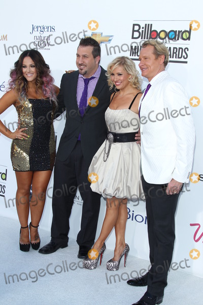 Joey Fatone, Lacey Schwimmer, Carson Kressley, Anya Garnis Photo - LAS VEGAS - MAY 20:  (L-R) Lacey Schwimmer, singer Joey Fatone and dancers Anya Garnis and Carson Kressley arrives at the 2012 Billboard Awards at MGM Garden Arena on May 20, 2012 in Las Vegas, NV