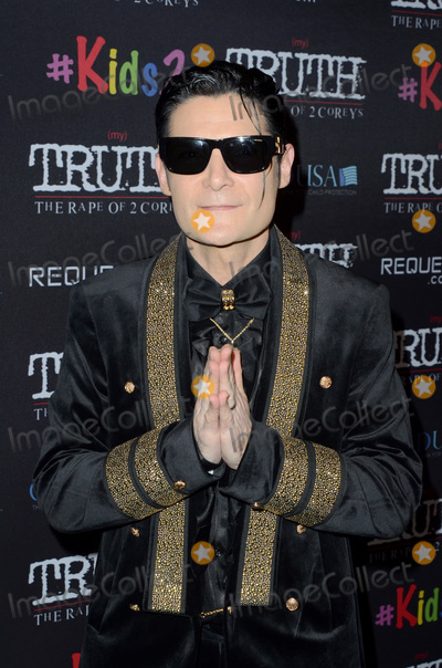 "Corey Feldman Photo - LOS ANGELES - MAR 9:  Corey Feldman at the ""(My) Truth: The Rape of 2 Coreys"" L.A. Premiere at the DGA Theater on March 9, 2020 in Los Angeles, CA"
