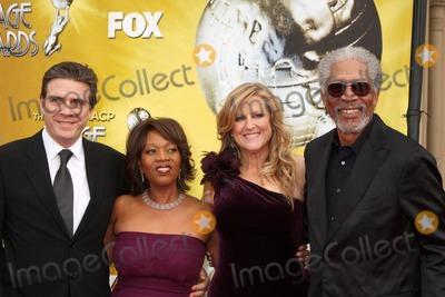 Alfre Woodard, Lori McCreary, Morgan Freeman, Lorie McCreary Photo - Alfre Woodard & husband, Lori McCreary , Morgan Freemanarriving  at the 41st NAACP Image Awards Shrine AuditoriumLos Angeles, CAFebruary 26, 2010