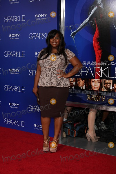 "Amber Riley Photo - Los Angeles - AUG 16:  Amber RIley arrives at the ""Sparkle""  Premiere at Graumans Chinese Theater on August 16, 2012 in Los Angeles, CA"