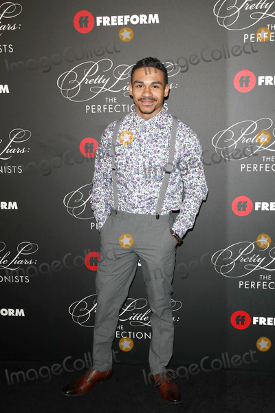 "Noah Gray Cabey, Noah Gray-Cabey Photo - LOS ANGELES - MAR 15:  Noah Gray-Cabey at the ""Pretty Little Liars: The Perfectionists"" Premiere at the Hollywood Athletic Club on March 15, 2019 in Los Angeles, CA"