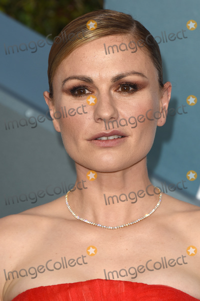 Anna Paquin, Anna Paquin- Photo - LOS ANGELES - JAN 19:  Anna Paquin at the 26th Screen Actors Guild Awards at the Shrine Auditorium on January 19, 2020 in Los Angeles, CA