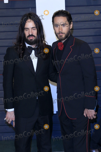 Jared Leto, Wallis Annenberg, Alessandro Michele Photo - LOS ANGELES - FEB 28:  Alessandro Michele, Jared Leto at the 2016 Vanity Fair Oscar Party at the Wallis Annenberg Center for the Performing Arts on February 28, 2016 in Beverly Hills, CA