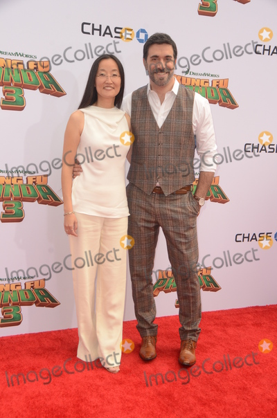 Jennifer Yuh, Alessandro Carloni Photo - LOS ANGELES - JAN 16:  Jennifer Yuh Nelson, Alessandro Carloni at the Kung Fu Panda 3 Premiere at the TCL Chinese Theater on January 16, 2016 in Los Angeles, CA