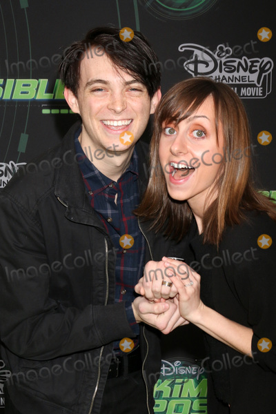 """Dylan Riley Photo - LOS ANGELES - FEB 12:  Dylan Riley Snyder, Allisyn Ashley Arm at the """"Kim Possible"""" Premiere Screening at the TV Academy on February 12, 2019 in Los Angeles, CA"""