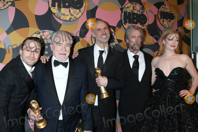 Alan Ruck, Brian Cox, Kieran Culkin, Ruck, Sarah Snook, Jesse Armstrong Photo - LOS ANGELES - JAN 5:  Kieran Culkin, Brian Cox, Jesse Armstrong, Alan Ruck and Sarah Snook at the 2020 HBO Golden Globe After Party at the Beverly Hilton Hotel on January 5, 2020 in Beverly Hills, CA