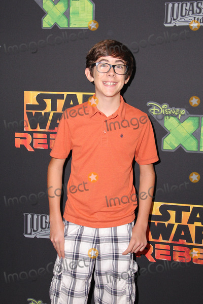 """Augie Isaac Photo - LOS ANGELES - SEP 27:  Augie Isaac at the """"Star Wars Rebels"""" Premiere Screening at AMC Century City on September 27, 2014 in Century City, CA"""