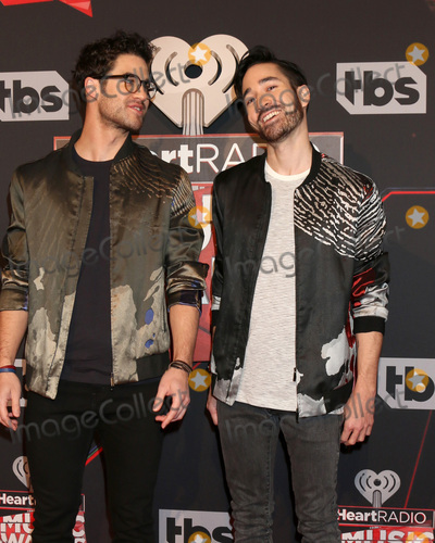 Darren Criss Photo - LOS ANGELES - MAR 5:  Darren Criss, Chuck Criss at the 2017 iHeart Music Awards at Forum on March 5, 2017 in Los Angeles, CA