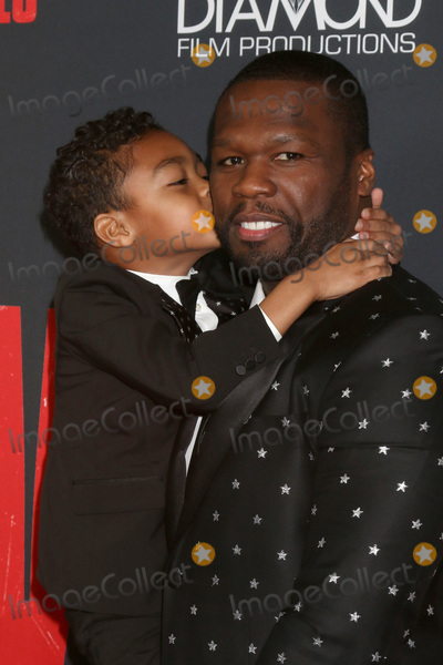 "Curtis Jackson, 50 Cent Photo - LOS ANGELES - JAN 17:  Curtis Jackson, 50 Cent, Sire Jackson at the ""Den of Thieves"" Premiere at Regal LA Live Theaters on January 17, 2018 in Los Angeles, CA"