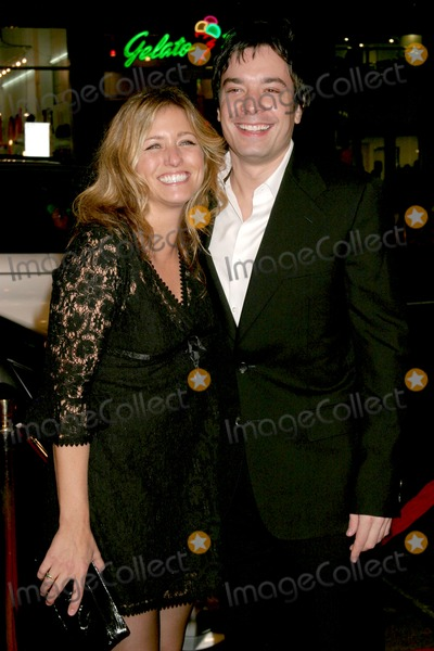 Jimmy Fallon, Nancy Juvonen, Lyric Photo - Nancy Juvonen (Drew's producing partner) & Jimmy Fallon