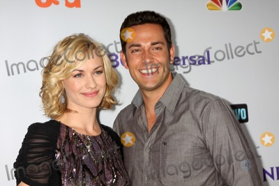 Yvonne Strahovski, Zach Levi Photo - LOS ANGELES - AUG 1:  Yvonne Strahovski, Zach Levi arriving at the NBC TCA Summer 2011 Party at SLS Hotel on August 1, 2011 in Los Angeles, CA