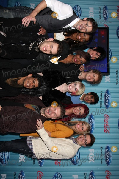 Photo - American Idol Top 13 , 2009  arriving at the American idol Top 13 Party at AREA in Los Angeles, CA  on