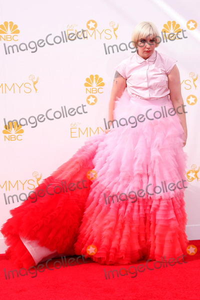 Lena Dunham Photo - LOS ANGELES - AUG 25:  Lena Dunham at the 2014 Primetime Emmy Awards - Arrivals at Nokia Theater at LA Live on August 25, 2014 in Los Angeles, CA