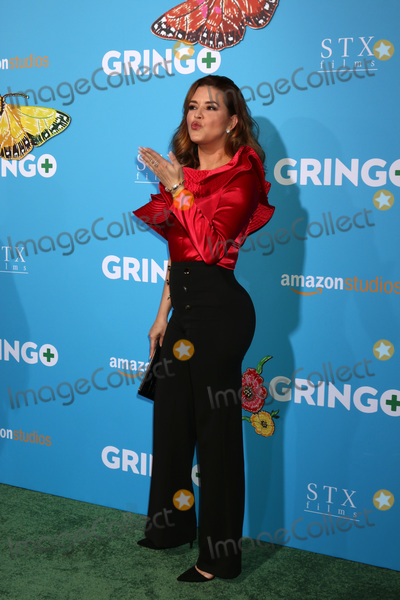 "Alicia Machado Photo - LOS ANGELES - MAR 6:  Alicia Machado at the ""Gringo"" Premiere at Regal LA Live on March 6, 2018 in Los Angeles, CA"