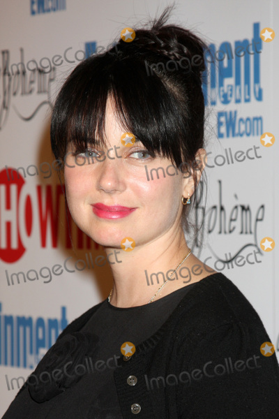 Photos and Pictures - Mia Kirshner arriving at the