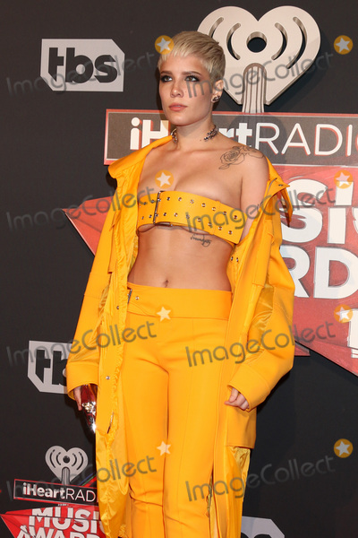 Photo - LOS ANGELES - MAR 5:  Halsey, aka Ashley Nicolette Frangipane at the 2017 iHeart Music Awards at Forum on March 5, 2017 in Los Angeles, CA