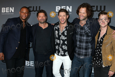 Jared Padalecki, Jensen Ackles, Misha Collins, David Ramsey, Alexander Calvert Photo - LOS ANGELES - AUG 4:  David Ramsey, Misha Collins, Jensen Ackles, Jared Padalecki, Alexander Calvert at the  CW Summer TCA All-Star Party at the Beverly Hilton Hotel on August 4, 2019 in Beverly Hills, CA
