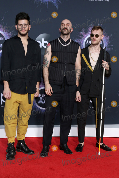 Adam Levine, Sam Harris, X Ambassadors Photo - LOS ANGELES - NOV 24:  X Ambassadors - Adam Levin, Sam Harris, Casey Harris at the 47th American Music Awards - Arrivals at Microsoft Theater on November 24, 2019 in Los Angeles, CA