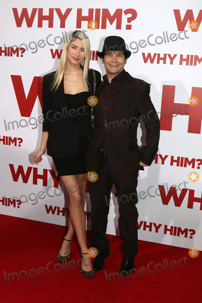 """Ann Mitchell, Anne Mitchell Photo - LOS ANGELES - DEC 17:  Courtney Anne Mitchell, Cory Feldman at the """"Why Him?"""" Premiere at Bruin Theater on December 17, 2016 in Westwood, CA"""