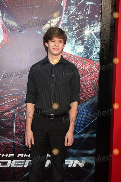"""Andy Gladbach, Spider Man, Spider-Man, Spiderman Photo - LOS ANGELES - JUN 28:  Andy Gladbach arrives at the """"The Amazing Spider-Man"""" Premiere at Village Theater on June 28, 2012 in Westwood, CA"""