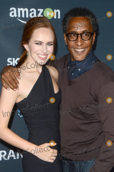 """Andre Royo Photo - LOS ANGELES - NOV 9:  Andre Royo, Elizabeth McLaughlin at the """"Transparent"""" Season Two Red Carpet Premiere at the Pacific Design Center on November 9, 2015 in West Hollywood, CA"""