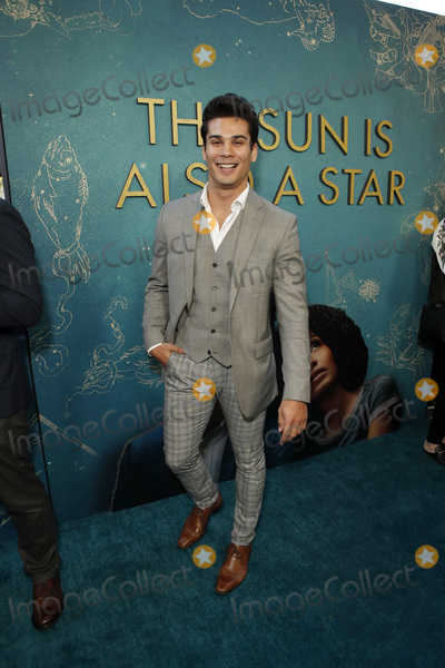 """Photo - LOS ANGELES - MAY 13:  Drew Ray Tanner at the """"The Sun Is Also A Star"""" World Premiere at the Pacific Theaters at the Grove on May 13, 2019 in Los Angeles, CA"""