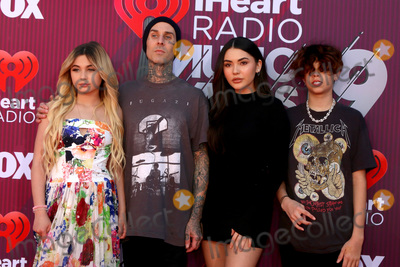 Alabama, Travis Barker, Alabama Barker Photo - LOS ANGELES - MAR 14:  Alabama Barker, Travis Barker, Atiana De La Hoya, Landon Barke at the iHeart Radio Music Awards - Arrivals at the Microsoft Theater on March 14, 2019 in Los Angeles, CA